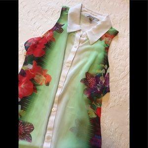 Decree Sheer beautiful tunic